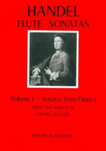 Sonatas Vol.1 Op1: Flute & Piano (Emerson)