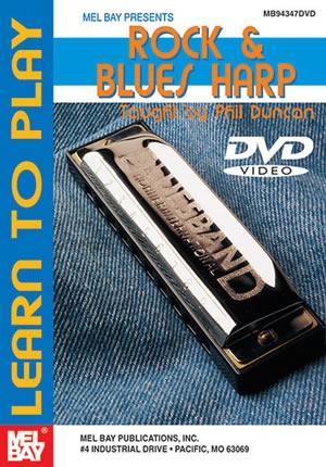 Learn To Play Rock & Blues Harp: DVD