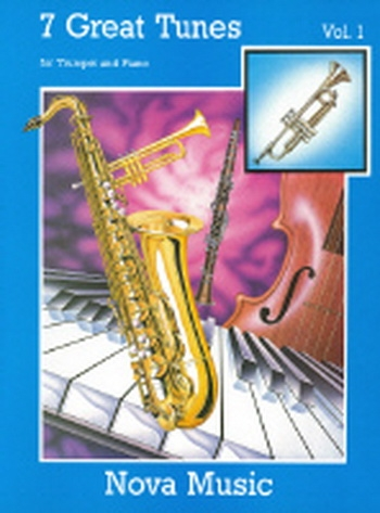 7 Great Tunes: Book 1: Trumpet