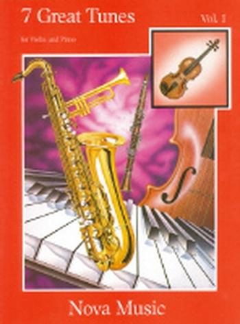 7 Great Tunes: Book 1: Violin