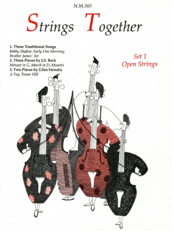 Graham Jones: Strings Together: 1: Open Strings: Score and Parts