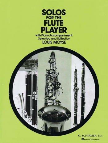 Solos For The Flute Player: Flute & Piano (moyse)