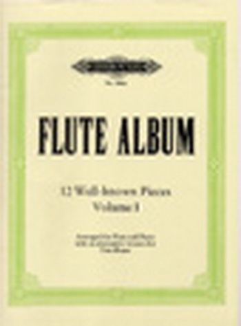 Flute Album: 12 Well Known Pieces: Vol1: Flute & Piano