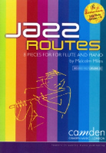 Jazz Routes: Flute: Book & CD