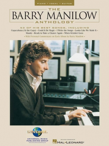 Barry Manilow Anthology: Piano Vocal Guitar