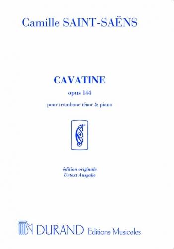 Cavatine Op144: Trombone: Tenor Trombone (Durand)