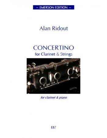 Concertino Clarinet & Piano (Emerson)