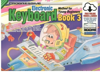 Progressive Keyboard Method For Young Beginners Book 3 A5: Book & Cd (scott And Turner)