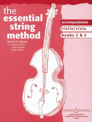 Essential String Method: Book  3&4: Piano Accomp: Upper String
