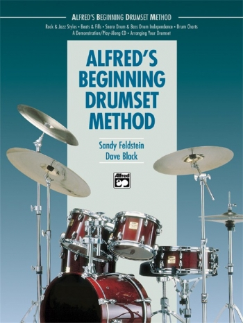 Alfreds Beginning Drumset Method: Book And CD