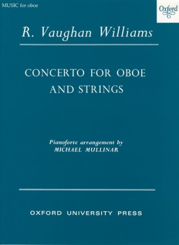 Concerto For Oboe  And Strings: Reduction Oboe and Piano