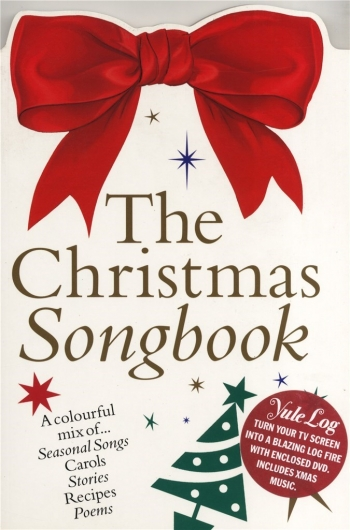 The Christmas Songbook (Including Yule Log Dvd): Piano Vocal Guitar
