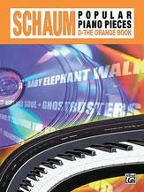 Schaum Popular Piano Pieces: D: Orange