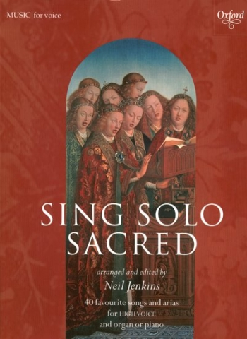 Sing Solo Sacred: High Voice (jenkins) (Oxford)