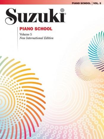 Suzuki Piano School Vol.5 Piano (Revised)
