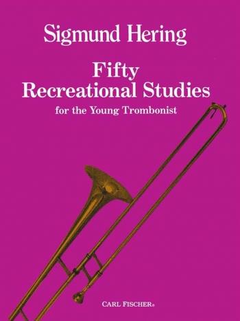50 Recreational Studies: Bc: Trombone (hering)