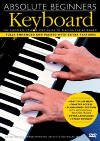 Absolute Beginners Keyboard: Complete First Steps: DVD
