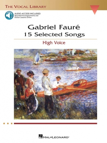 15 Selected Songs: Vocal: High Voice: The Vocal Library: Bookand2Cds
