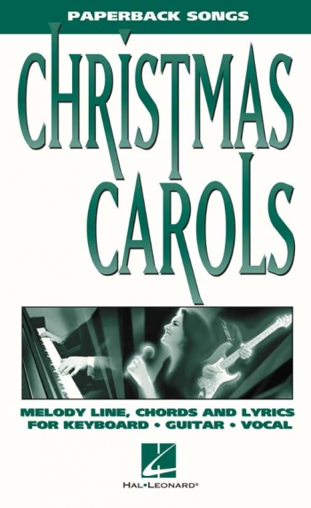 Paperback Songs: Christmas Carols: Melody Line and Chords