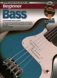 Progressive Beginner Bass: Book & CD (Turner)