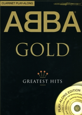 Abba Gold: Greatest Hits: Clarinet Play-Along: Book & 2CDs