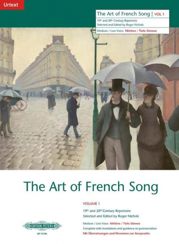 Art Of French Song: 1: Medium Low Voice