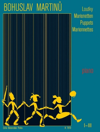 Puppets Marionnettes: Complete I-III: Piano  (Barenreiter)