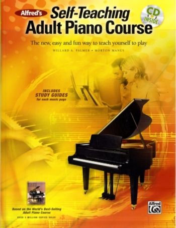 Alfreds Self Teaching Adult Piano Course: Book & CD
