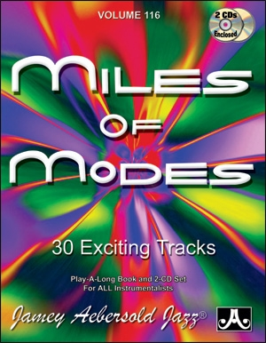 Aebersold Vol.116: Miles Of Modes: All Instruments: Book & CD