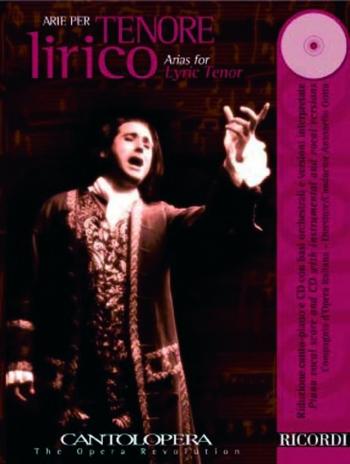 Cantolopera: Arias For Tenor Vol 1: Vocal