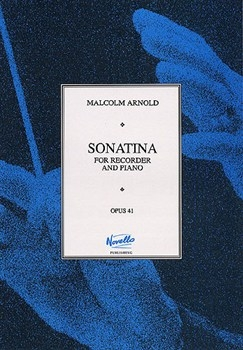 Sonatina Op.41: Recorder Or Flute & Piano (Paterson)