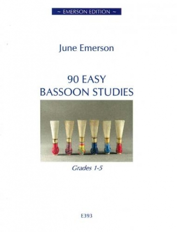 90 Easy Bassoon Studies: Grade 1-5 (Emerson)