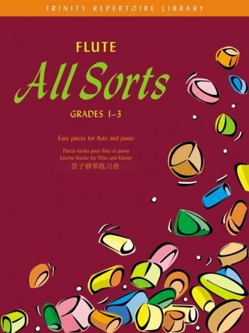 Flute All Sorts: Grade 1-3: Trinity Repertoire Library: Flute & Piano