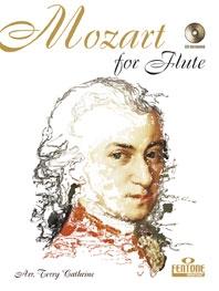 Mozart For Flute & Piano Book & CD  (Fentone)