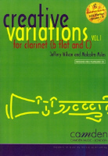 Creative Variations Vol.1 Clarinet Book & CD (wilson)