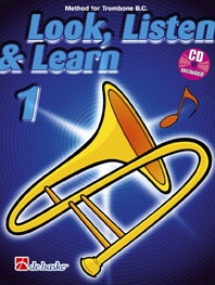 Look Listen & Learn 1 Trombone Bass Clef: Book & Cd  (sparke)