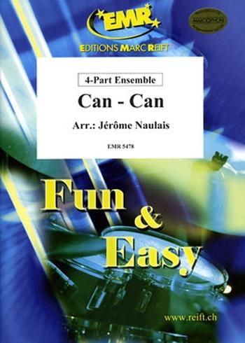 Offenbach: Can-Can: 4 Part: Mixed Ensemble (Naulais)