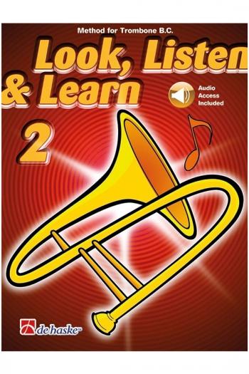 Look Listen & Learn 2 Trombone BAss Clef: Book & Cd  (sparke)