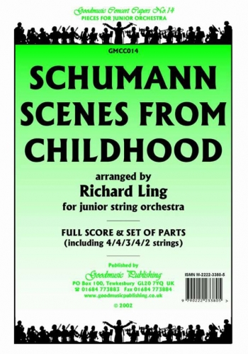 Orch/schumann/scenes From Childhood/junior String Orchestra/scandpts (ling)