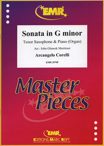 Sonata: G Minor: Tenor Saxophone