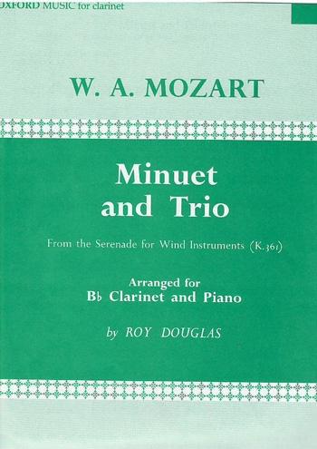 Minuet And Trio: Clarinet & Piano
