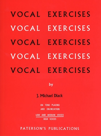 Vocal Exercises On Tone Placing And Enunciation (Low And Medium Voices)