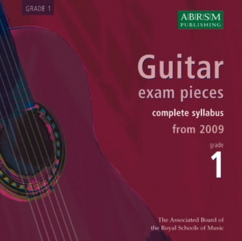 ABRSM Guitar Exam Pieces CD Only: Grade 1: From 2009: Complete Syllabus