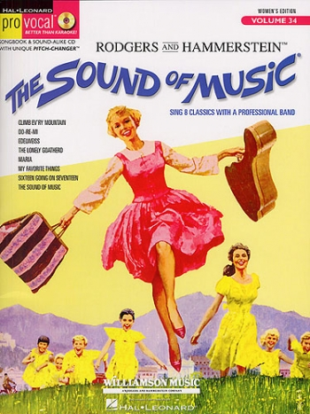 Pro Music Vocal: Sound Of Music: Vol.34: Womens Edition