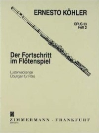 Progress In Flute Playing Op33: 2: Studies (Zimerman)