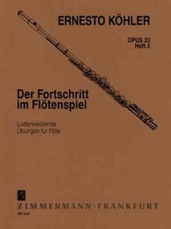 Progress In Flute Playing Op33: 3: Studies (Zimerman)