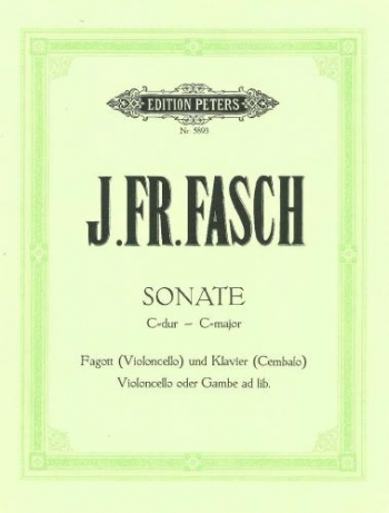 Sonata In C: Bassoon & Piano (Peters)