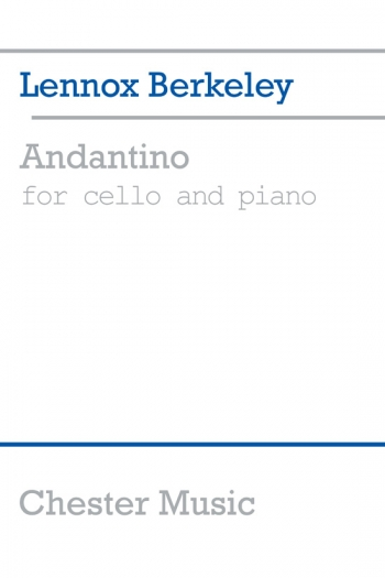 Andantino: Cello & Piano (Chesters)