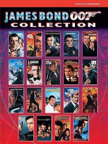 James Bond 007 Collection: Piano Accompaniment