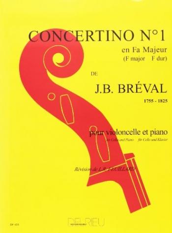 Concertino No.1 F Major: Cello & Piano (Delrieu)